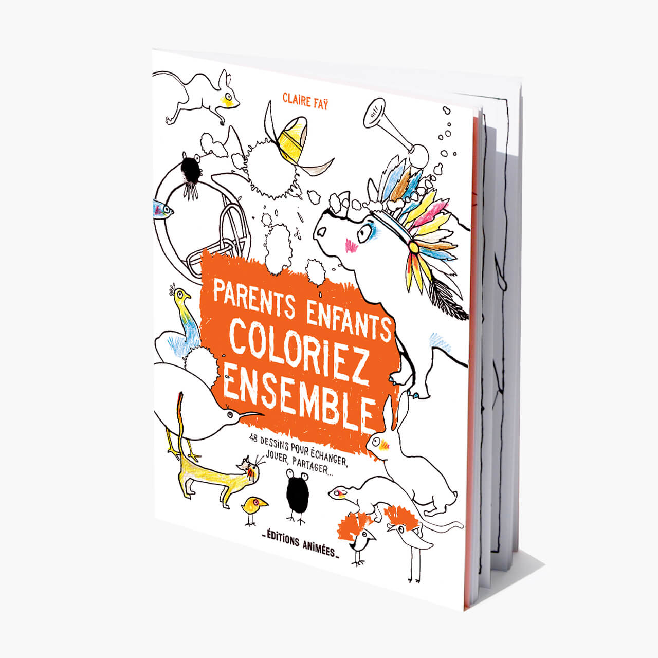 Parents Et Enfants Coloriez Ensemble Editions Animees