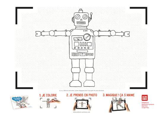 Coloriage à imprimer - Éditions Animées - Blinkbook - S'occuper les jours de pluie