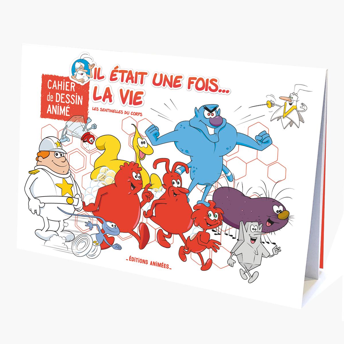 Il Etait Une Fois La Vie Editions Animees